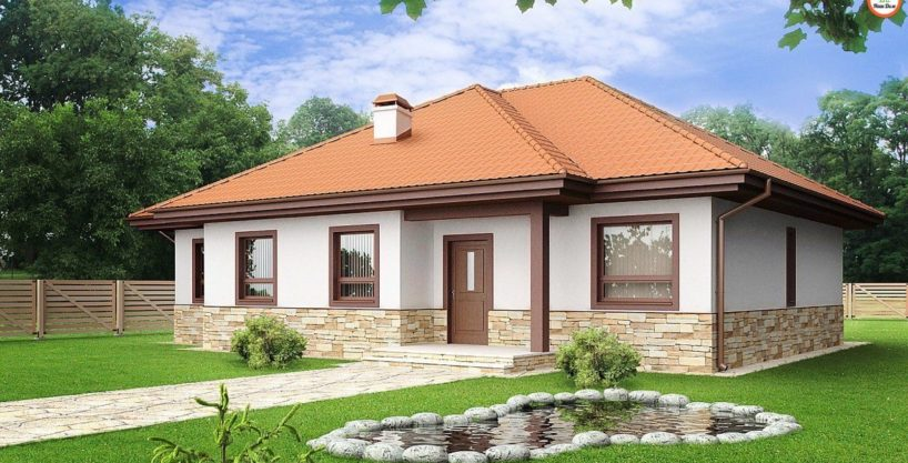 Проект каркасного дома Z-23