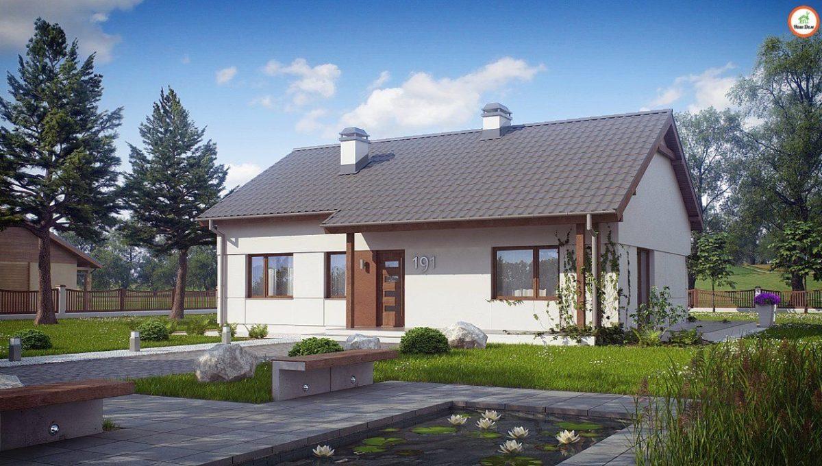 Проект каркасного дома Z-191