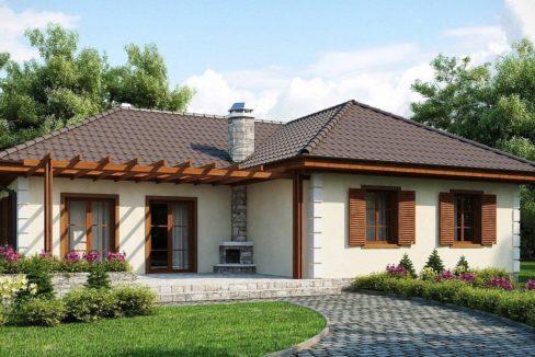 Проект каркасного дома Z-6
