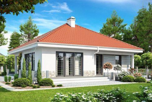 Проект каркасного дома Z-141