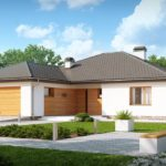 Проект каркасного дома Z-199