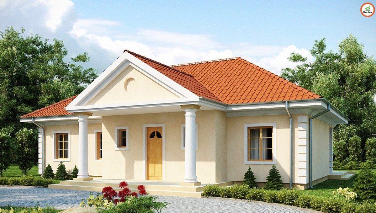 Проект каркасного дома Z-2