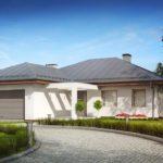 Проект каркасного дома Z-207