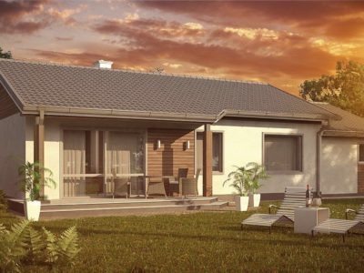 Проект каркасного дома Z-7