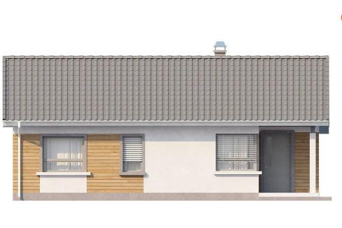 Фасад 4 каркасного дома Z-87