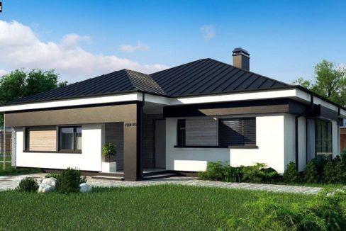 Проект каркасного дома Z-200
