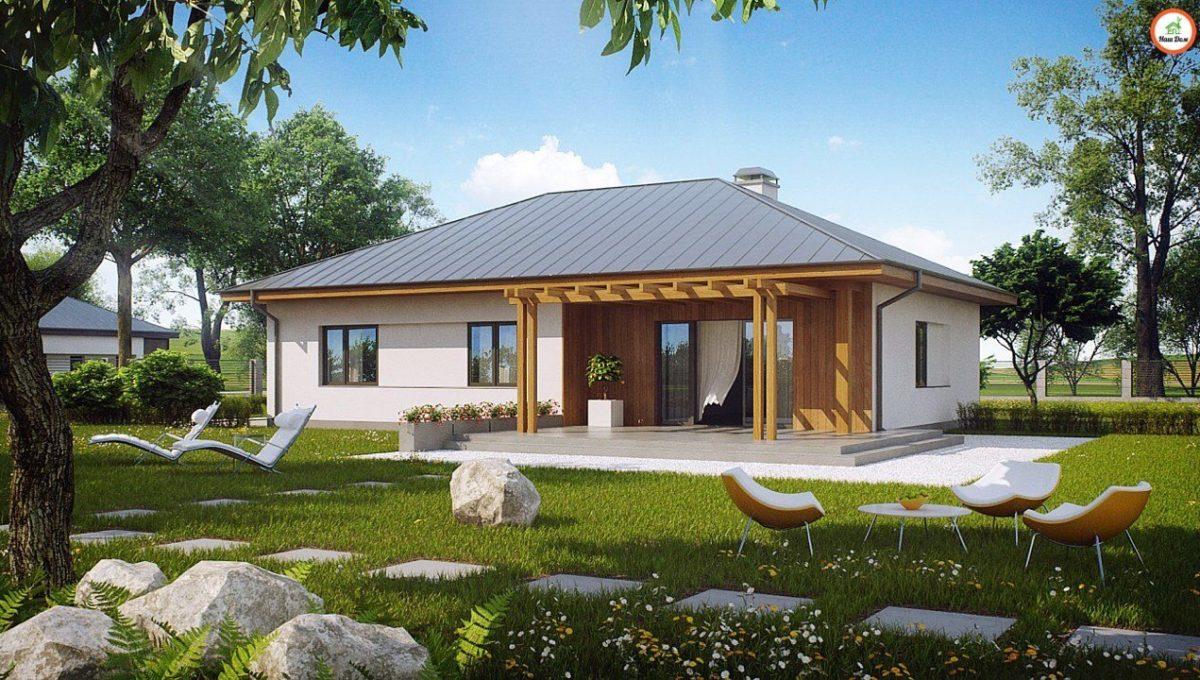 Проект каркасного дома Z-176