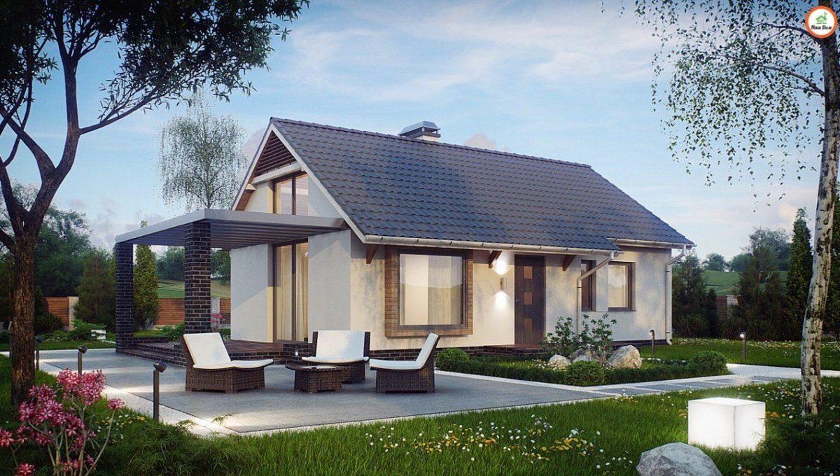 Проект каркасного дома Z-139