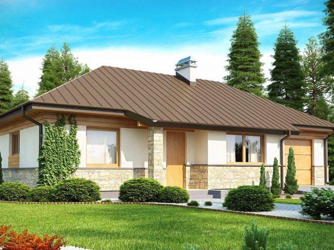 Проект каркасного дома Z-151