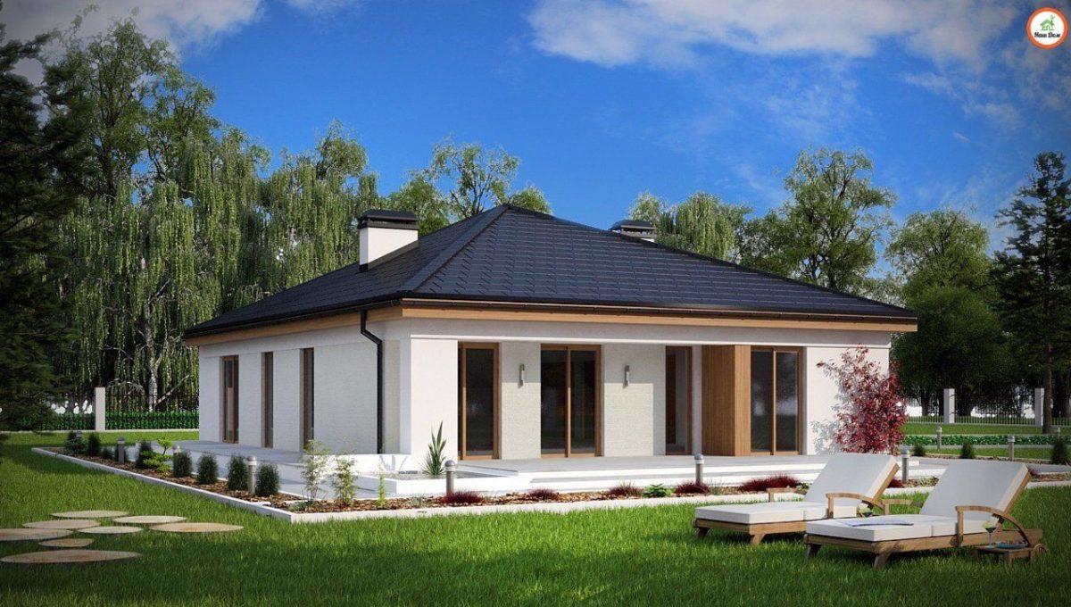 Проект каркасного дома Z-196