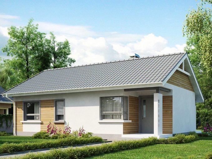 Проект каркасного дома Z-87