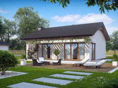 Проект каркасного дома Z-254